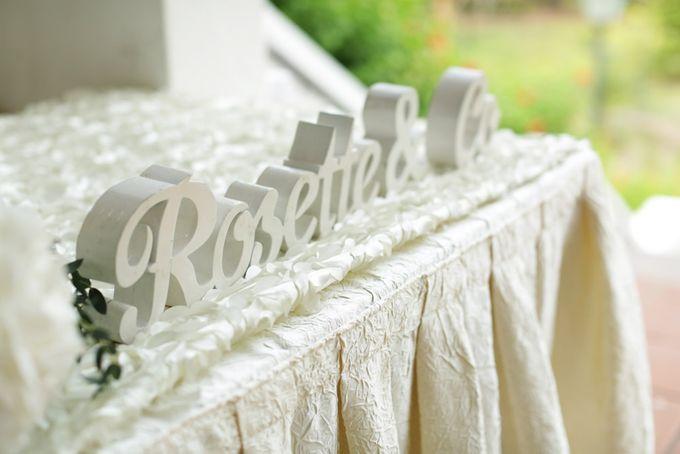 Wedding of Jamie & Liana by Rosette Designs & Co - 006