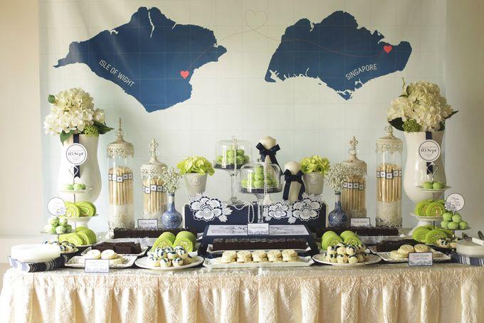 Wedding of Jamie & Liana by Rosette Designs & Co - 010