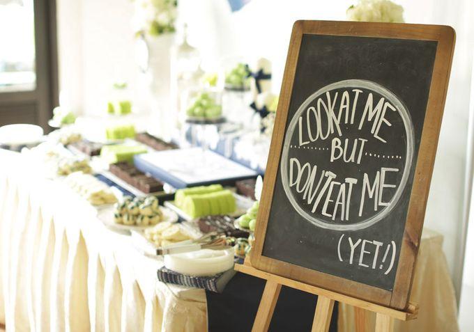 Wedding of Jamie & Liana by Rosette Designs & Co - 012