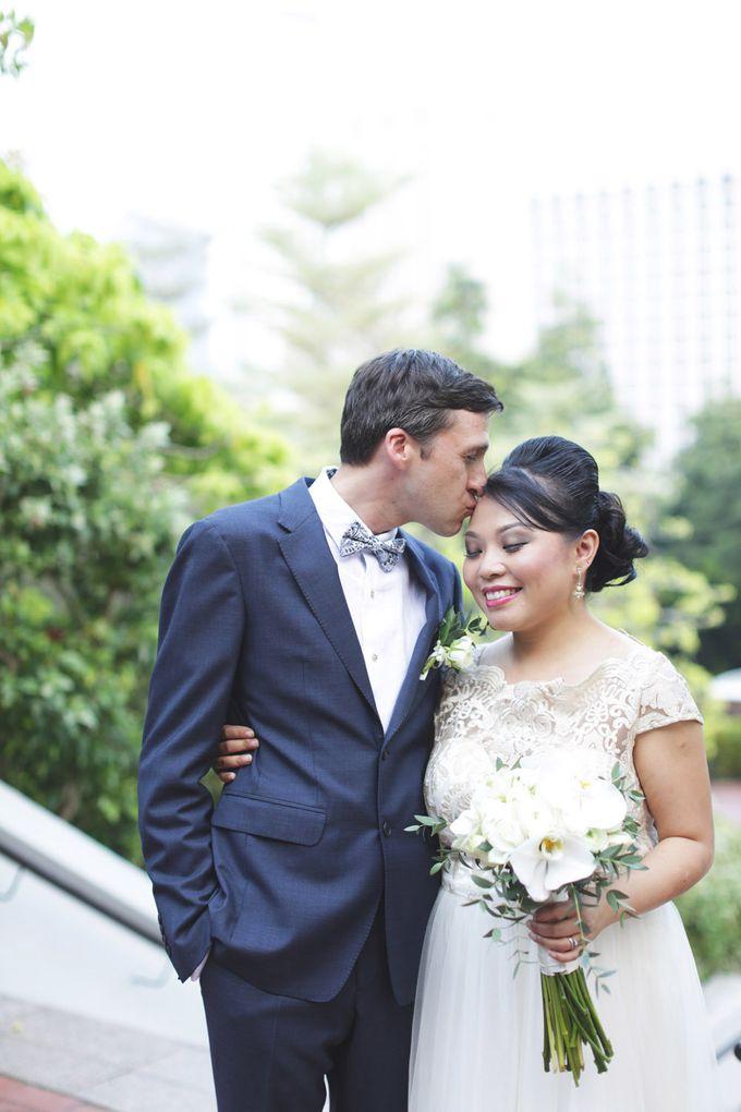 Wedding of Jamie & Liana by Rosette Designs & Co - 020