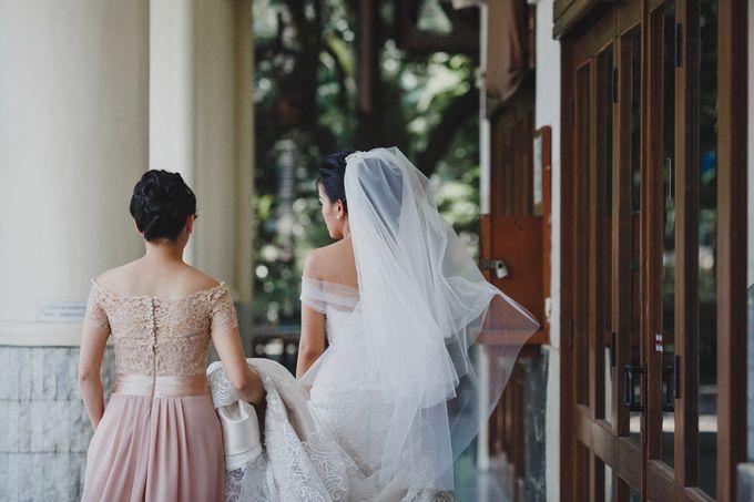 Intimate Kembang Goela Wedding by ILUMINEN - 014