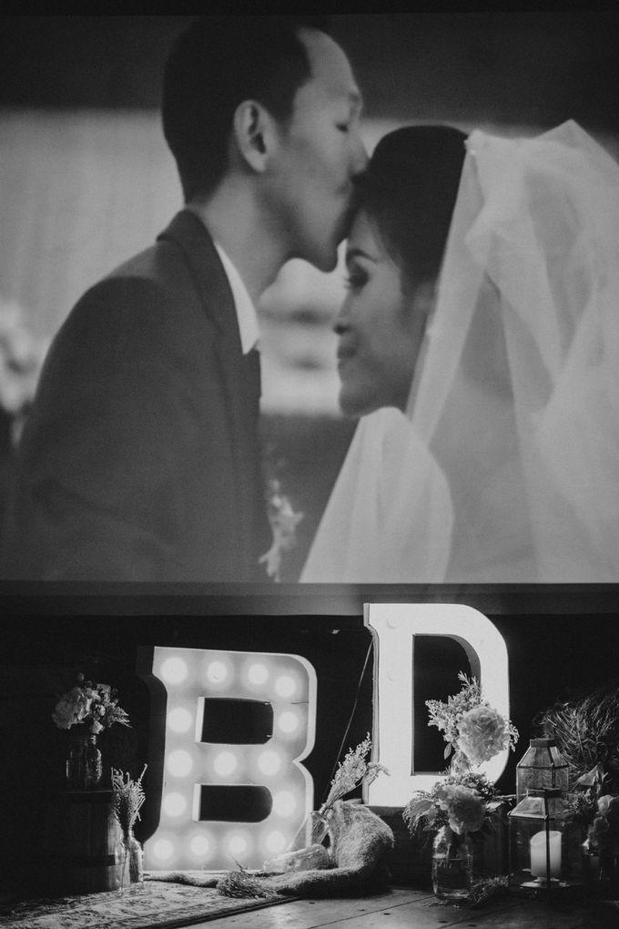 Intimate Kembang Goela Wedding by ILUMINEN - 038