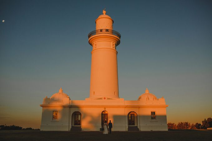 Sydney Lighthouse Connection Sessesion | Mendy & Koh by ILUMINEN - 001
