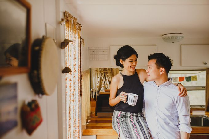 The Escape in Caravan | Connection Session of Olivia & Ricco by ILUMINEN - 006