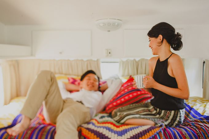 The Escape in Caravan | Connection Session of Olivia & Ricco by ILUMINEN - 009