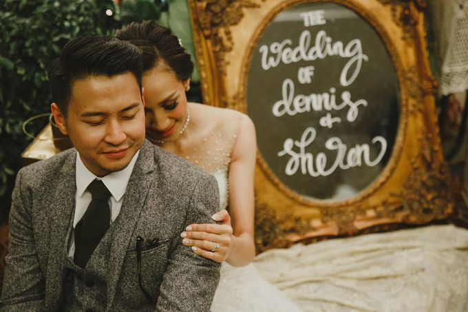 Sheren and Dennis Wedding by ILUMINEN - 050