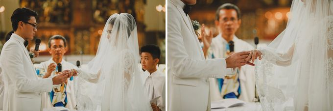 Cathedral Jakarta & The Edge Uluwatu | Duo City Wedding of Julia & Erick by ILUMINEN - 035