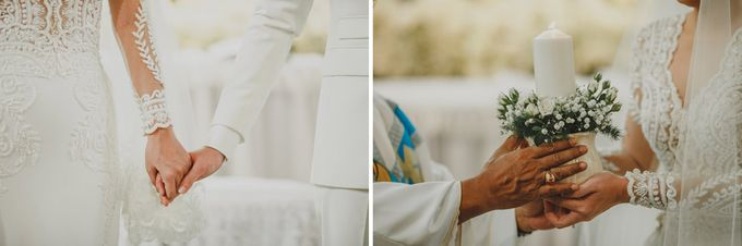 Cathedral Jakarta & The Edge Uluwatu | Duo City Wedding of Julia & Erick by ILUMINEN - 038