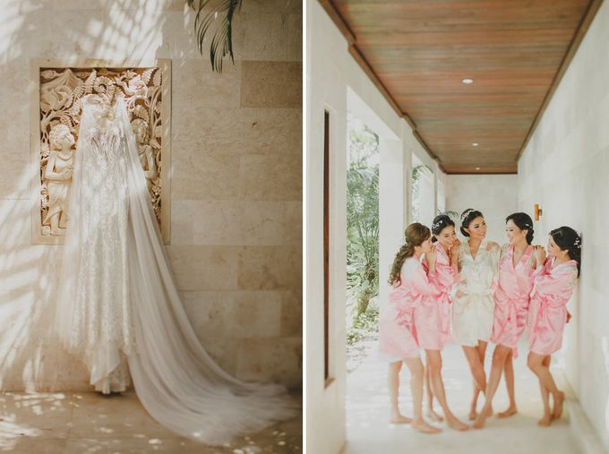 Cathedral Jakarta & The Edge Uluwatu | Duo City Wedding of Julia & Erick by ILUMINEN - 044
