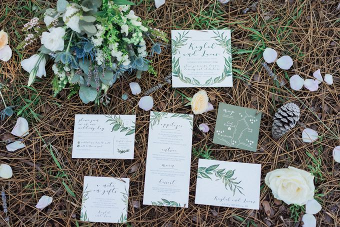 Forest Elopement Inspiration by Cynthier - 003