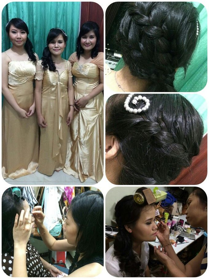 Family makeup n Gown by The Bride House - 034