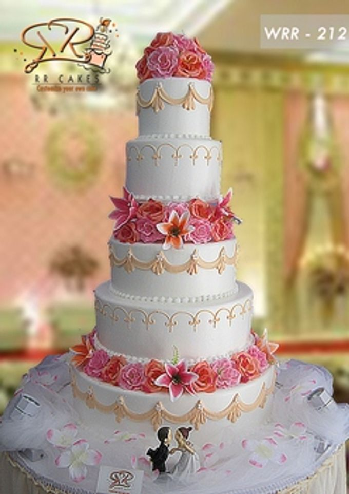 RR cake 5 tingkat by RR CAKES - 031