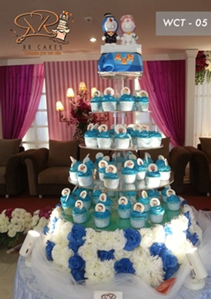 RR cake cupcake by RR CAKES - 004