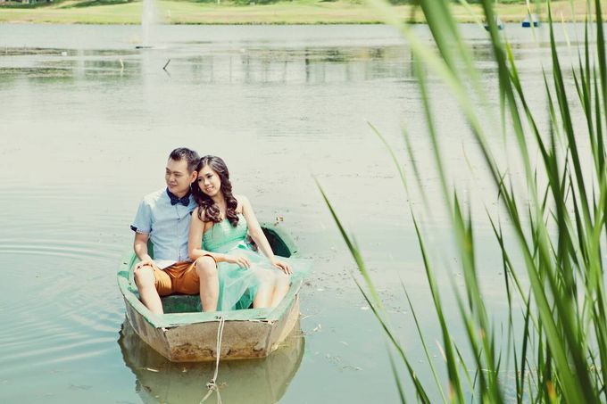 Prewedding makeup by Makeup by Ie - 003
