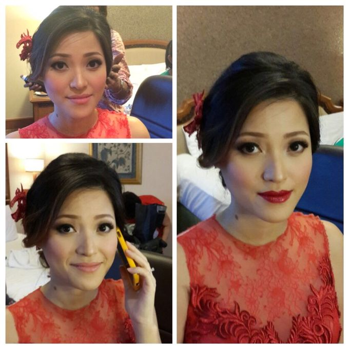 Engagement Makeup by Xinxin Make Up - 001
