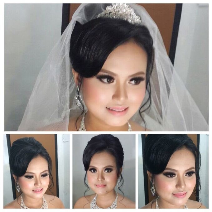 Ria and Anton wedding day by Xinxin Make Up - 004