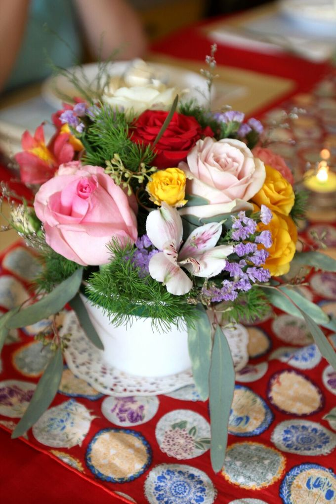 Birthday Table Arrangement by Flower Inc. - 006