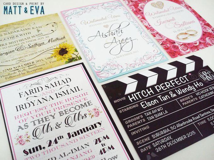 Economy Invitation Cards by Matt & Eva - 004