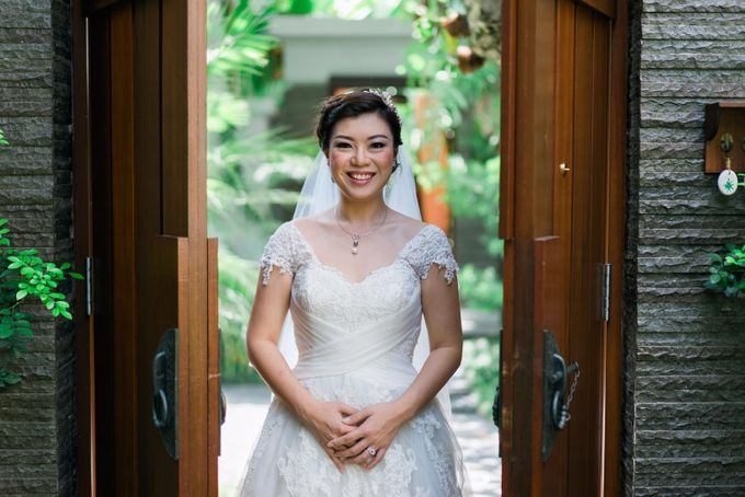 Eddy & Herlina Wedding by bjcmakeupartist - 005