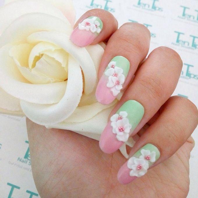 Wedding Nails by Ten Tips Nail Studio - 005
