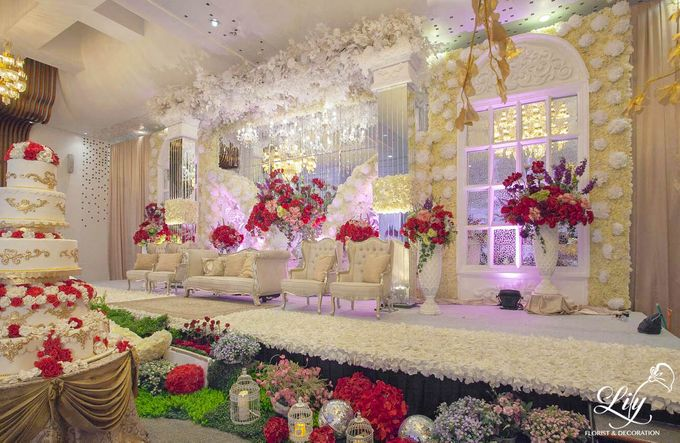 Dian & Anderson Wedding by Lily Florist & Decoration - 002