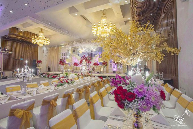 Dian & Anderson Wedding by Lily Florist & Decoration - 003