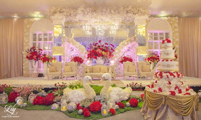 Dian & Anderson Wedding by Lily Florist & Decoration - 004