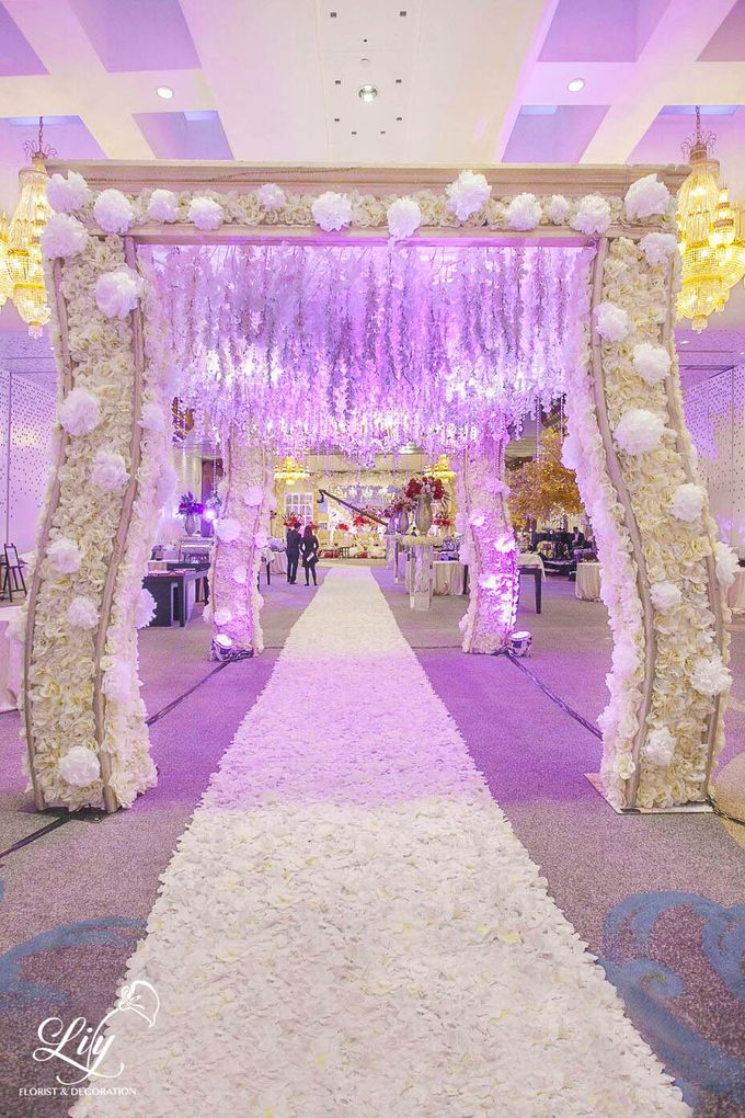 Dian & Anderson Wedding by Lily Florist & Decoration - 006