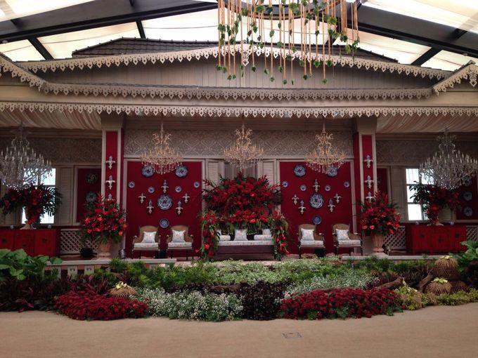 Segara Ballroom & Garden 1 by The Dharmawangsa Jakarta - 006