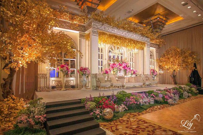 Royal Wedding of Alfin & Angel Grand Hyatt by Lily Florist & Decoration - 001