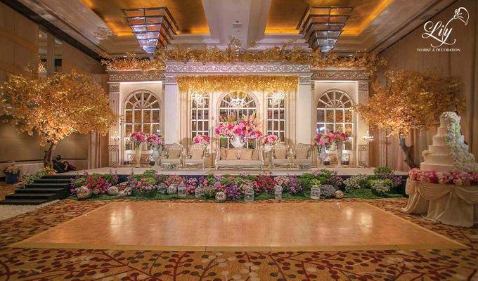 Royal Wedding of Alfin & Angel Grand Hyatt by Lily Florist & Decoration - 002
