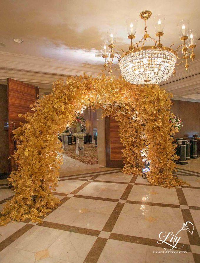 Royal Wedding of Alfin & Angel Grand Hyatt by Lily Florist & Decoration - 005