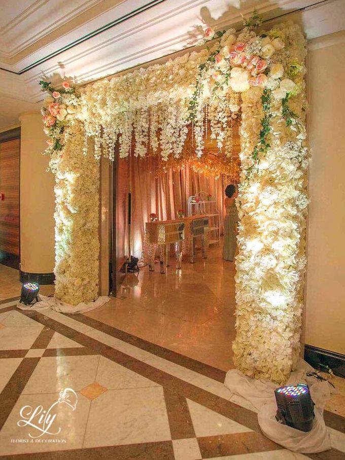 Royal Wedding of Alfin & Angel Grand Hyatt by Lily Florist & Decoration - 006