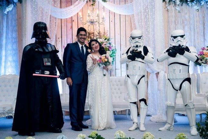 Wedding Hasnan & Dhea by Millennium Hotel Sirih Jakarta - 003