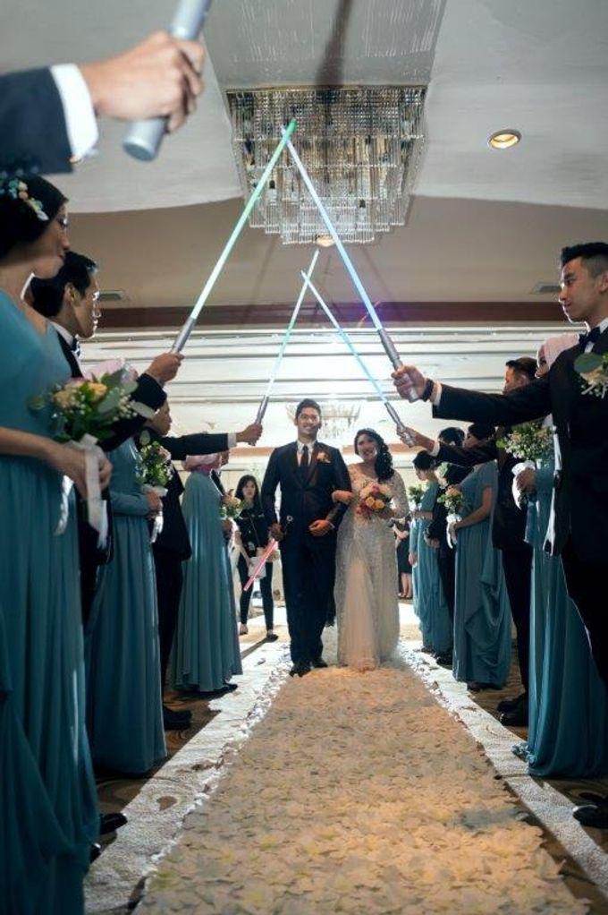 Wedding Hasnan & Dhea by Millennium Hotel Sirih Jakarta - 002
