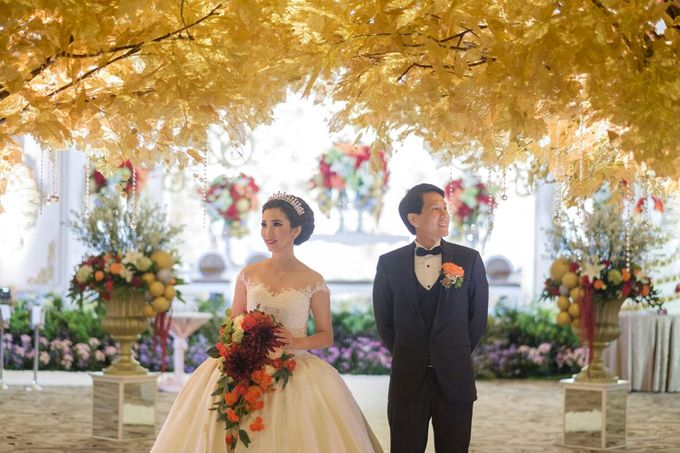 David tutera sunflower wedding