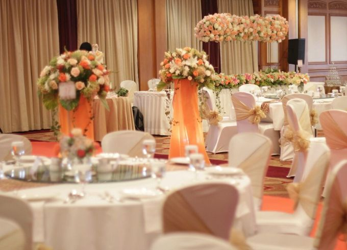 WEDDING DECORATION by MERCANTILE PENTHOUSE WEDDING - 007