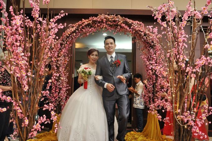 Wedding of Harianto & Aurelia Katarina Lianty by Pelangi Cake - 003