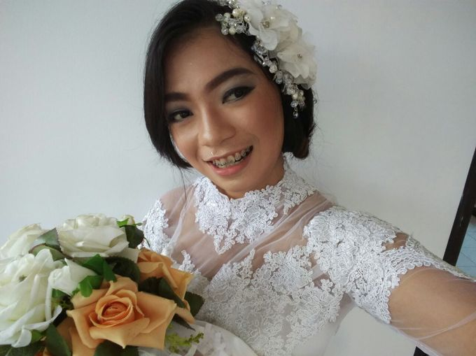 TRIAL WEDDING MAKE UP by Nikma Rosida MUA - 013