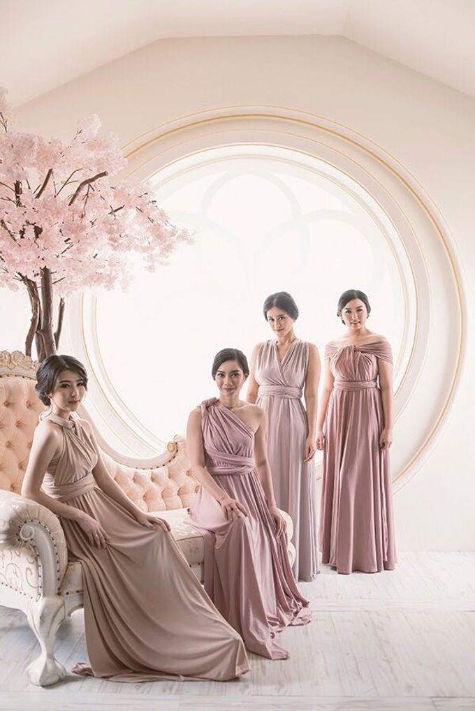 New collection 2017 by Lademoiselle Bridesmaids - 025