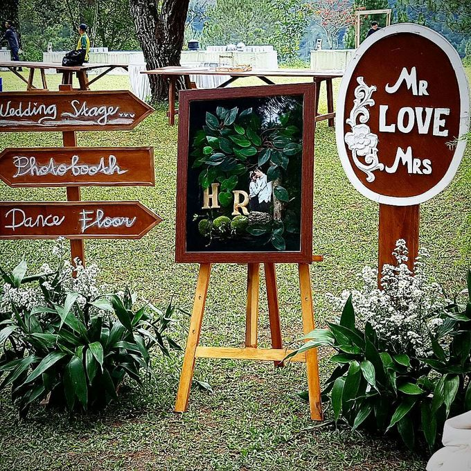 Rustic Theme Decoration by Home Smile Florist - 012