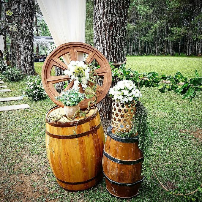 Rustic Theme Decoration by Home Smile Florist - 011