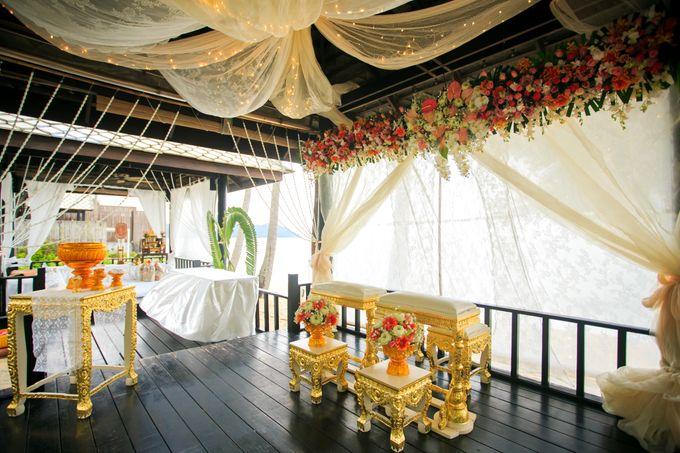Intimate Thai Wedding Ceremony by Dream Asia Weddings - 006
