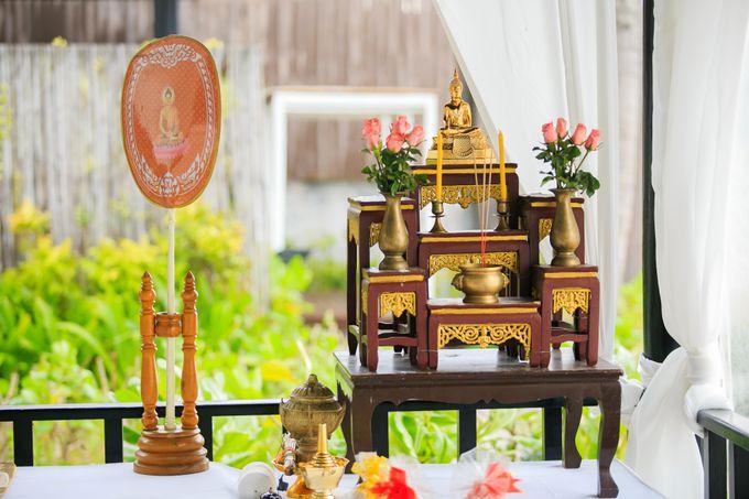 Intimate Thai Wedding Ceremony by Dream Asia Weddings - 005