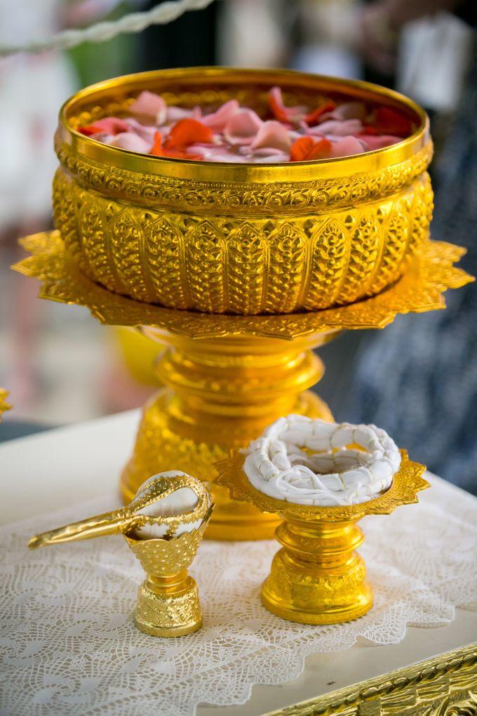 Intimate Thai Wedding Ceremony by Dream Asia Weddings - 020