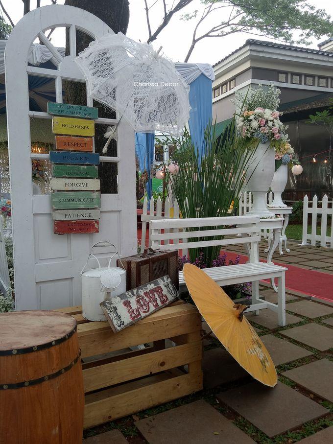 Outdoor Shabby Decor by Charissa Event & Wedding Decoration - 007