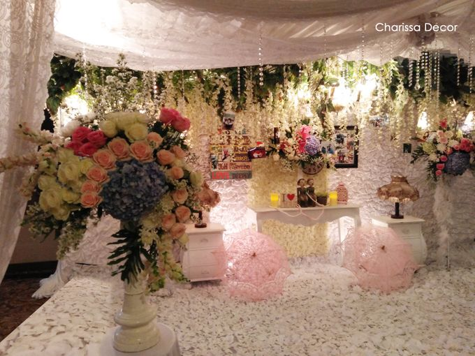 Engagement Ian & Devi by Charissa Event & Wedding Decoration - 005