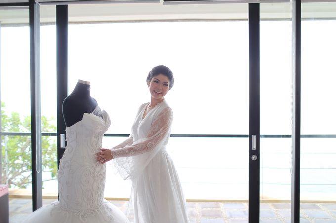 Andrew & Jessica Wedding by Sofitel Bali Nusa Dua Beach Resort - 023