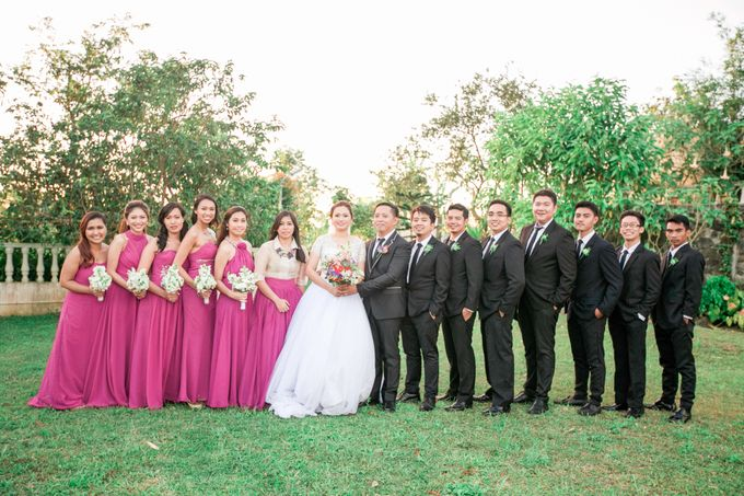 Garden Wedding in Tagaytay by Honeycomb PhotoCinema - 008