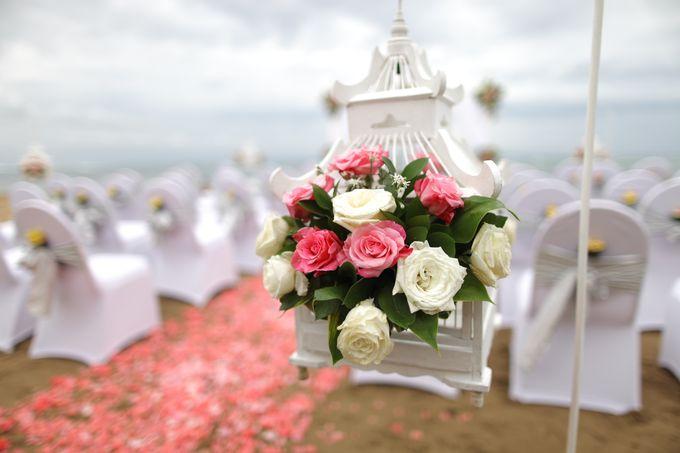Chloe and Samuel Wedding by Grand Aston Bali Beach Resort - 001